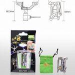 BRS-3000T Mini poêle de camping Ultralight 25g pour BBQ Picnic Cookout de la marque SUNRIS image 3 produit