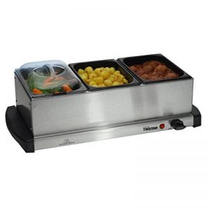 Buffet Warmer and Hotplate - 3 x 1.5lt capacity and Keep Warm Function de la marque Tristar image 0 produit
