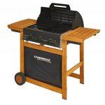 Campingaz Barbecue Gaz Adelaide 3 Woody L, 3 Brûleurs BBQ Gaz, Puissance 14kW, Système de Nettoyage Facile InstaClean, Grille et Plancha en Acier, 2 Tablettes Latérales de la marque Campingaz image 1 produit
