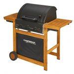 Campingaz Barbecue Gaz Adelaide 3 Woody L, 3 Brûleurs BBQ Gaz, Puissance 14kW, Système de Nettoyage Facile InstaClean, Grille et Plancha en Acier, 2 Tablettes Latérales de la marque Campingaz image 3 produit