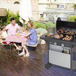 Campingaz Barbecue à Gaz Class 2 LX Vario, 2 Brûleurs, Puissance 7.5kW, Grille et Plancha en Acier Double Emaillage, 2 Tablettes Latérales de la marque Campingaz image 3 produit