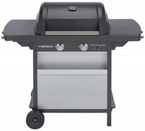 Campingaz Barbecue à Gaz Class 2 LX Vario, 2 Brûleurs, Puissance 7.5kW, Grille et Plancha en Acier Double Emaillage, 2 Tablettes Latérales de la marque Campingaz image 0 produit