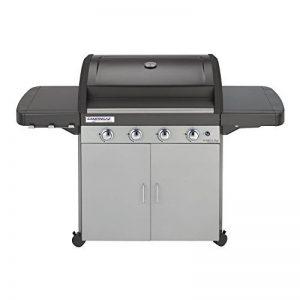Campingaz Barbecue à gaz Class 4 L Plus, 4 brûleurs, Puissance 12.8kW, Système de nettoyage facile InstaClean, Grille et plancha en fonte double émaillage, 2 tablettes latérales de la marque Campingaz image 0 produit
