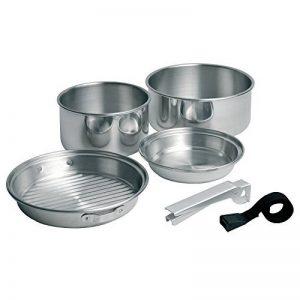 Campingaz Coleman Kit de cuisine Trekking 5 Pièces en aluminium - Casseroles, poële, Couvercle, poignée de la marque Campingaz image 0 produit