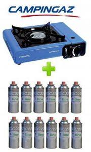Campingaz Réchaud de table bistro 2+ 12cartouches à gaz incluses–Puissance 2300W + étui et allumage piezo de la marque ALTIGASI image 0 produit