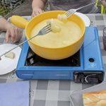 Campingaz Réchaud de table bistro 2+ 3cartouches à gaz Campingaz originales incluses–Puissance 2300W + étui et allumage piezo de la marque ALTIGASI image 1 produit