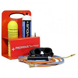 Chalumeau gaz KHW GASEX semi professionnel. Bouteille de gaz GASEX bouteille gaz oxygene lunette soudure inclus. Prêt à souder. de la marque Providus image 0 produit