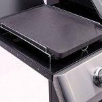 Charbroil grillades en fonte Embout, noir, 37x 25x 3cm, 140515 de la marque CHAR-BROIL image 1 produit