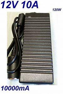 Chargeur Voiture Allume Cigare 12V 10A 10000mA 120W pour Remplacement Glacière Cooler Compresseur d'air Aspirateur Frezee Congélateur puissance du câble d'alimentation de la marque CARGADOR ESP image 0 produit