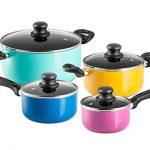 Chefs Star Set de casseroles et poêles en aluminium - set de cuisine 17 pièces de la marque Chefs Star® image 1 produit