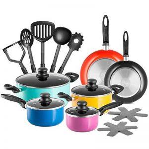 Chefs Star Set de casseroles et poêles en aluminium - set de cuisine 17 pièces de la marque Chefs Star® image 0 produit