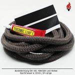 Cheminée Joint Joint de porte Set avec colle et joint d'étanchéité abbinder Cordon 3m, Ø 10mm de la marque Bullenhitze image 1 produit