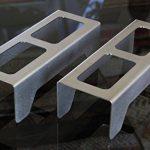Chenets compacts pour poêles et inserts, design moderne et épuré « CLASSIC » de la marque CFL Clever Fire Lighter image 1 produit
