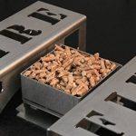 Chenets compacts pour poêles et inserts, design moderne et épuré « FIRE » de la marque CFL Clever Fire Lighter image 3 produit