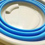 Cmykzone de voiture pliable barils Seau pliable multifonctionnel pliable Réservoir d'eau pour la pêche, le camping, la randonnée et la conduite de voyage 10L de la marque CMYKZONE image 2 produit