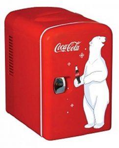 Coca Cola KWC4 Frigo Électrique Mixte Adulte, Rouge de la marque Coca Cola image 0 produit