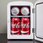 Coca Cola KWC4 Frigo Électrique Mixte Adulte, Rouge de la marque Coca Cola image 3 produit