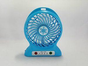 COF Costa Ventilateur USB PC Fan Portable Mini ventilateur électrique rechargeable 18650 3 Vitesse Bureau d'été Ventilateur USB Power Bank Ventilateur avec lumières LED avec batterie rechargeable glacière Fan de la marque COF COSTA® image 0 produit