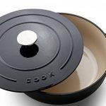 CookCasserole/Fonte de haute qualité / Ø 25 cm/3,1L /adaptés pour tous types de cuisson y compris l'induction et barbecue / lave-vaisselle/ Poignées ergonomiques de la marque Cook image 1 produit