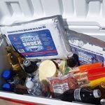Cooler 4Mid Taille Freeze Packs 25,4x 22,9cm Bouchon à visser–pas Plus de glace. refroidisseur chocs Remplace Glace et réutilisable. Vous pouvez ajouter l'eau et Économisez. de la marque Cooler image 2 produit