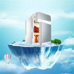 Cqq réfrigérateur voiture 20L 12V DC 220V AC Réfrigération Voiture réfrigérateur Mini frigo Petite maison micro-frigo Voiture double usage réfrigérateur ( Couleur : B ) de la marque Réfrigérateur voiture image 4 produit