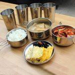 Cuisine Camping extérieur en acier inoxydable Vaisselle kit (Pot, poêle, assiettes, tasses) pour la randonnée barbecue pique-nique de la marque TwinkBling image 1 produit