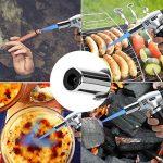 DAMIGRAM Damitech Chalumeau de Cuisine Professionnel Barbecue Chalumeau Torche Culinaire avec verrou de sécurité Rechargeable Gaz Butane (Black) de la marque DAMIGRAM image 4 produit