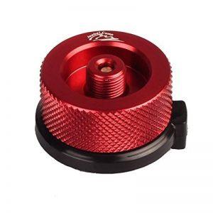 Damooz cartouche de gaz Tête adaptateur de conversion de type à vis pour cylindres de gaz butane four de connecteur de conversion de brûleur Remplissage de la marque Damooz image 0 produit