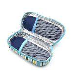 DCCN Trousse Pochette Housse Isotherme Sac pour Diabétique Avec Poche de Gel Chaud/Froid (Bleu marine) de la marque DCCN image 1 produit
