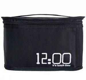 Déjeuner Pack Food Storage Sac à lunch réutilisable garder au chaud Réfrigération Portable Aluminium Foil Isolation Oxford Étanche - capacité 3.88L de la marque XIAOWANG image 0 produit