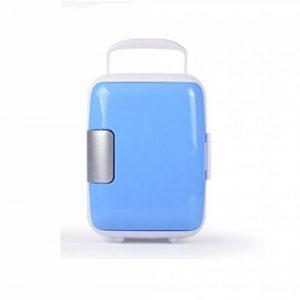 DFKEI Glacière 4 litres électrique | pour maintenir au chaud ou refroidir | Glacière thermoélectrique 12 Volt et 220 Volt | Mini-réfrigérateur | Glacière électrique camping | Glacière voiture | (Bleu) de la marque DFKEI image 0 produit
