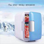 DFKEI Glacière 4 litres électrique | pour maintenir au chaud ou refroidir | Glacière thermoélectrique 12 Volt et 220 Volt | Mini-réfrigérateur | Glacière électrique camping | Glacière voiture | (Bleu) de la marque DFKEI image 2 produit