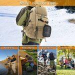 Diealles 2 Pièces Marmite de Cuisine Ustensile de Camping pour Camping, Pique-nique,BBQ, Randonnée de la marque Diealles image 4 produit