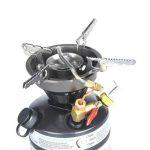 Docooler - Réchaud à gaz et essence de camping portable pour pique-nique, randonnée, pêche et autres activités en plein air de la marque Docooler image 3 produit