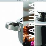 Domestic TOP Selection Varuna 810020 Poêle en acier inoxydable 18/10 Compatible induction Diamètre 24 cm de la marque Domestic image 1 produit