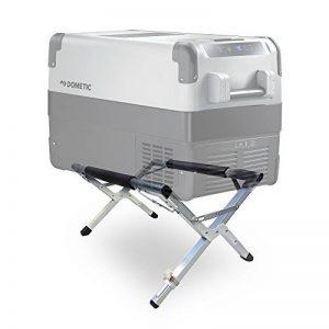 Dometic Glacière-– Support pour vos Outdoor Cuisine de camping: ✓ sûr ✓ hygiénique ✓ rückenschonend–Stable Réfrigérateur-réglage de support à 80kg Capacité de poids, variable hauteurs de la marque image 0 produit