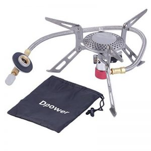 Dpower Mini Portable Pliable Réchaud de camping fonctionnant au gaz muni avec allumage piézo de la marque YKS-ST image 0 produit
