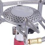 Dpower Mini Portable Pliable Réchaud de camping fonctionnant au gaz muni avec allumage piézo de la marque YKS-ST image 1 produit