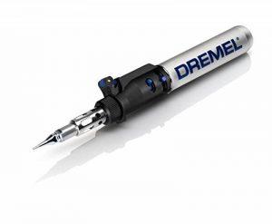 DREMEL Fer à Souder au Butane Versatip 2000-6, Durée d'Utilisation Maximum 90 min, 6 Accessoires de la marque Dremel image 0 produit