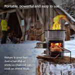 EcoZoom UK Versa Poêle à bois/biomasse/charbon de la marque EcoZoom UK image 4 produit