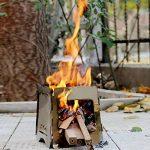 EMVANV extérieur bacteries Alcool Poêle à bois de chauffage Poêle à bois Gravure Petit Portable Camping pique-nique randonnée Outil de chauffage de la marque EMVANV image 1 produit