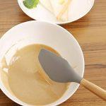 Ensemble de 5 ustensiles de cuisine en silicone avec manche en acacia naturel - Gris de la marque UK Plaque image 2 produit
