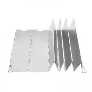 ESYN 10 plaques Pliable extérieur Camping Cuisinière à gaz écran Vent Shield de la marque ESYN image 0 produit