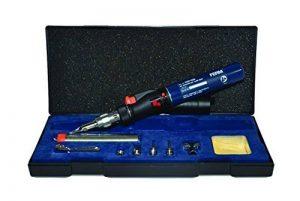 FERM SGM1006 Pistolet/ Torche de soudure - 35 min. - Rechargeable - Fonction de la flamme - fonction de soudure - fonction rétrécissement - Boîte de rangement de la marque FERM image 0 produit