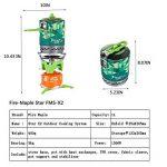 Fire-maple étoile Fms-x2extérieur Système de cuisson Portable Camp Réchaud avec allumage piézo Pot support et support–ultraléger Compact coupe-vent haute efficacité de chauffage–Boîtes de propane et butane–Camping de la marque Fire-Maple image 3 produit