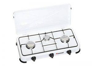 Firefriend - Réchaud à gaz - 3-Brûleurs - 2 x 1500 Watt et 1 x 1000 Watt - Blanc de la marque Fire Friend image 0 produit