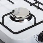 Firefriend - Réchaud à gaz - 3-Brûleurs - 2 x 1500 Watt et 1 x 1000 Watt - Blanc de la marque Fire Friend image 3 produit