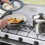 Firefriend - Réchaud à gaz - 3-Brûleurs - 2 x 1500 Watt et 1 x 1000 Watt - Blanc de la marque Fire Friend image 4 produit