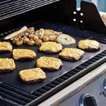 Fivefire Tapis de grille pour barbecue Lot de 5–four antiadhésive Revêtement en Téflon Tapis de cuisson–Parfait pour la cuisson au gaz, Charbon de bois, four électrique et grilles–réutilisable, durable, résistant à la chaleur barbecue Feuilles pour image 2 produit