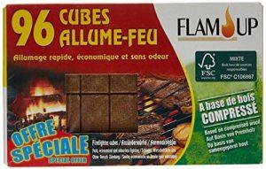Flam'Up Allume-feu naturel Bois compresse 96 Cubes de la marque Flam'Up image 0 produit